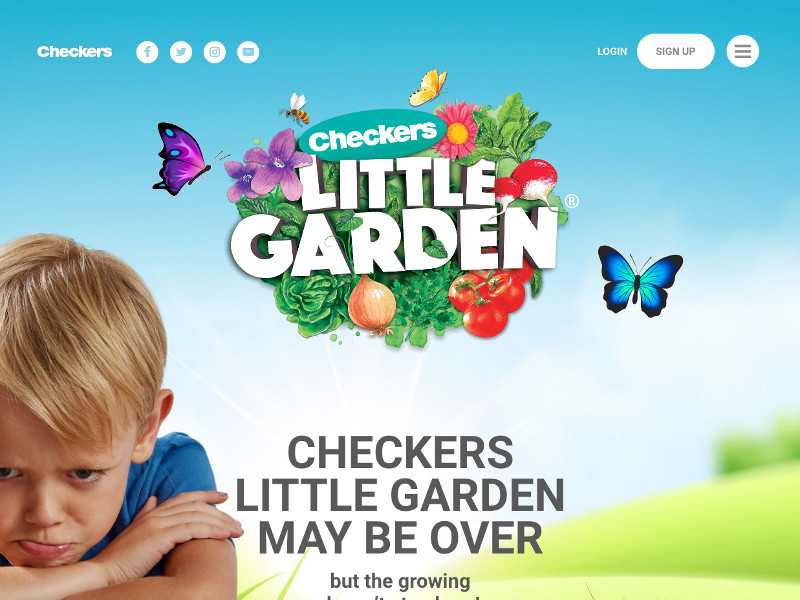 Checkers Little Garden - Custom WordPress Development