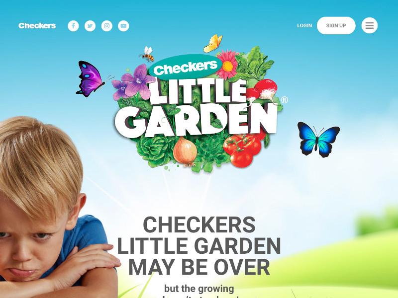 Checkers Little Garden - Custom WordPress Development