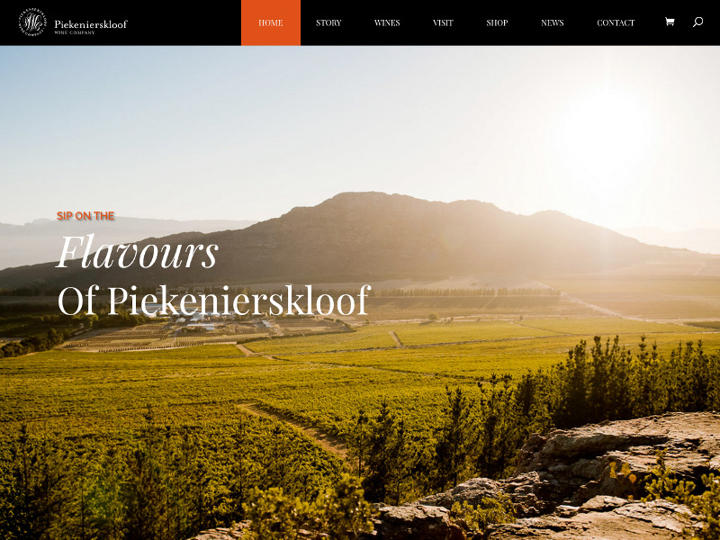 Piekenierskloof Wine Company - WordPress