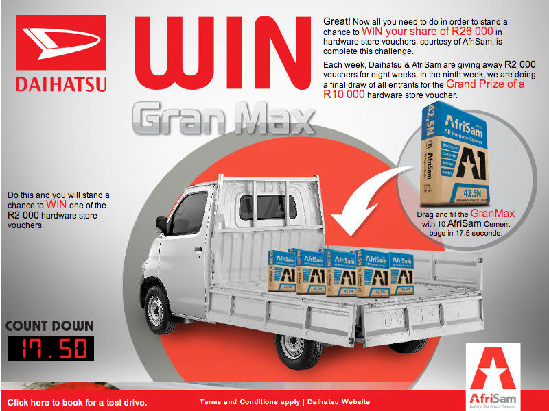 Daihatsu - Facebook Competition