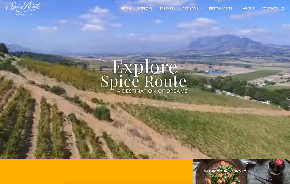 SpiceRoute Destination - WordPress Development